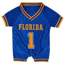 Florida Infant Pounce Football Jersey Onesie - 6-12 Months