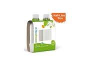 Sodastream 1/2 Liter Carbonating Bottles - White (2 Pack) Sodastream 1/2 Liter Carbonating Bottles