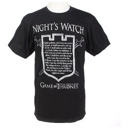 Game Of Thrones Night s Watch Oath T-Shirt