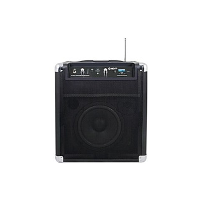 Ion Audio Block Rocker Ipa56c Speaker System - 50 W Rms - Wireless Speaker(s) - Battery Rechargeable - 100 Ft - Bluetooth - Near Field Communication -