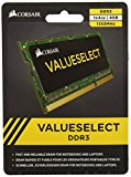 Corsair 4GB (1x4GB) DDR3 1333 MHz (PC3 10666) Laptop Memory 1.5V