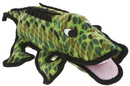 VIP Products Tuffy's Ultimate Sea Creature Alligator Dog Toy