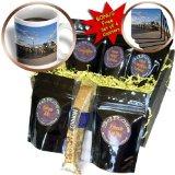 cgb_93160_1 Danita Delimont - Beaches - New York, Southampton. Shelter Island ferry dock - US33 WBI0243 - Walter Bibikow - Coffee Gift Baskets - Coffee Gift Basket