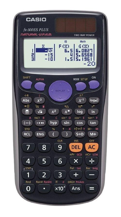Casio Fx-300es-plus 10-digit Lcd Scientific Calculator - 252 Functions