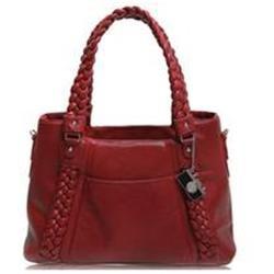 Epiphanie Clover Shoulder Camera Bag, Red