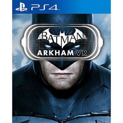 Warner Brothers Publications Inc 1000628897 Batman Arkham Vr - Playstation 4