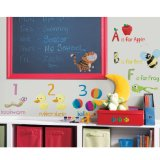 RoomMates RMK1185SCS Education Station Peel & Stick Wall Decals