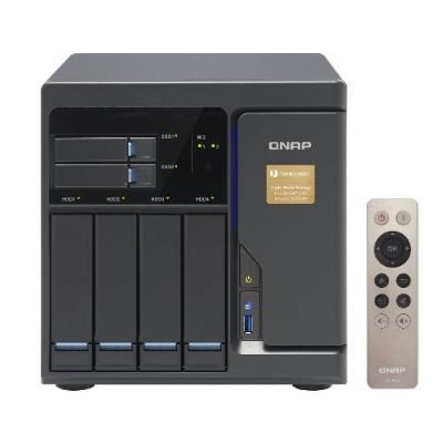 Qnap Tvs-682t-i3-8g-us 6 Bay Thunderbolt 2 Das/nas/iscsi Ip-san Solution  Intel Core I3-6100 Dual Core