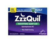 Zzzquil Nighttime Sleep Aid Liquicaps 24 Count