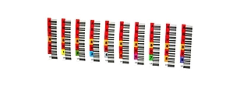 Overland Barcode Label - 110