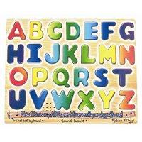 Alphabet Sound Puzzle  By Melissa & Doug