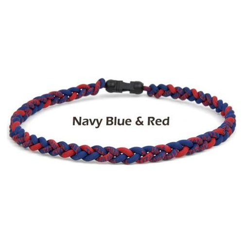 Brett Bros Ionic Necklace, Navy/Red, Large