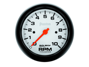 "Auto Meter Phantom In-Dash Electric Tachometer Features: Red Pointer For Quick Glance Monitoring    Safeguard Against Dangerous Conditions    Precision Movement And Extreme Accuracy    1 Year Limited Warranty Height: 6.00"" Width: 6.00"" Length: 6.00"" Weight: 1.00 lbs"