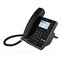 The PolycomCX600 IP Phone features embedded Microsoft Communication Server 14 software allowing it to be seamlessly deployed within Microsoft Communication Server 14 environments