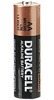 Power your electronic devices requiring AA cells with the 24 pack of standard, all purpose, Duracell 1.5V AA Coppertop Alkaline Batteries