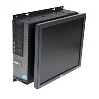 The Rack Solutions 104 2323 SFF Wall Mount is compatible with most flat panel displays