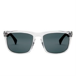 Electric Visual Men's Knoxville Sunglasses Black Crystal Melanin Grey