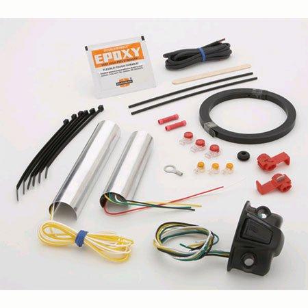 Symtec 214046 Heat Demons Handlebar Grip Warmer Kit For Harley-Davidson 1-1/4 Bars
