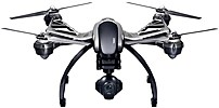 A completion level of ready to fly  RTF  means this version of the YUNQ4KUS Q500 4K Typhoon Quadcopter with CGO3 GB Camera from Yuneec comes factory assembled and that a pre bound transmitter ground station unit is included