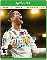 EA 014633737486 FIFA 18 Ronaldo Edition Video Game   Xbox One