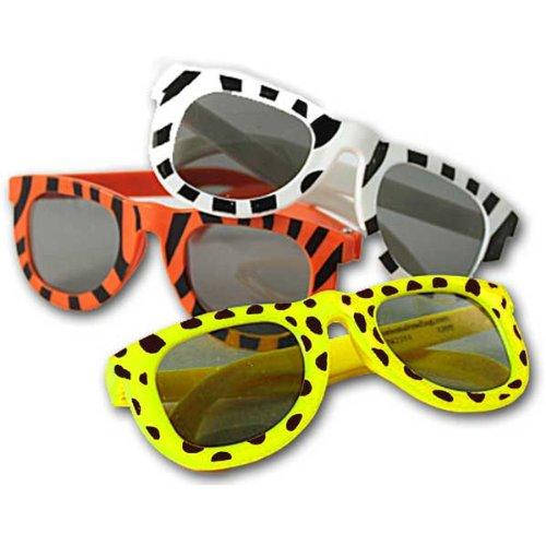 Animal Print Sunglasses Assortment (1 dz)
