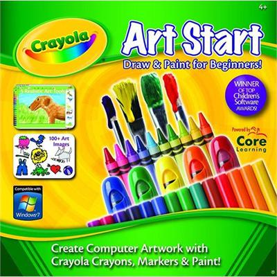Core Learning Crst-1010-esd Crayola Art Start - License - Esd - Win
