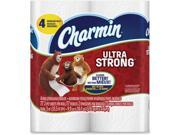 Charmin Ultra Strong Bath Tissue Type: Tissues Color: White Quantity: 4 / Pack