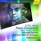 C.P.E. Bach: Piano Concertos, Vol. 5