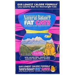 Natural Balance Fat Cats Adult Cat Food, 15 lbs.