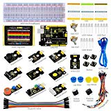 keyestudio UNO R3 Sensor Kit for Arduino Project Starter Kit with Tutorial Include 19 Interesting Interactive Lesson, Great Stem Education Tool for boys and Girls