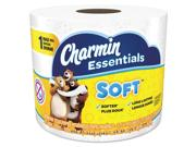 Charmin 97184 Essentials Soft Bathroom Tissue, 2-ply, 4 X 3.92, 275/roll, 36 Roll/carton