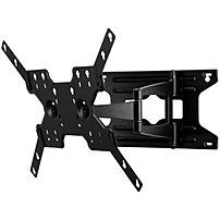 "Peerless-av Smartmountlt Sal770 Wall Mount For Flat Panel Display - 37"" To 75"" Screen Support - 105 Lb Load Capacity - Black"