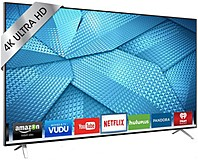 Vizio M65-c1 65-inch Led Smart 4k Ultra Hdtv - 3840 X 2160 - 20,000,000:1 - Clear Action 720 - Wi-fi - Vizio Internet Apps Plus - Hdmi