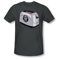 Mens BSG Short Sleeve TOASTER XLarge Slim Fit T-Shirt Tee