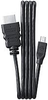 Samsung Ea-cbhd10d 3.3 Feet Hdmi Cable - Black