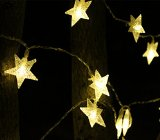 BiggerStarhome New Warm White 4m/13ft 40 LED Star Light Fairy String Light for Christmas XMAX Weddings Family Festival School Party