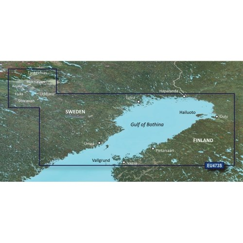 Garmin VEU473S - Gulf of Bothnia, North - SD Card