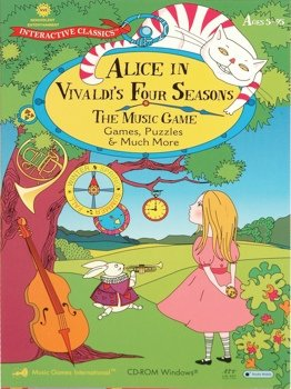 MUSIC GAMES INTERNATIONAL Alice in Vivaldi's Four Seasons The Music Game ( Win )