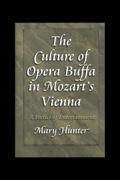 The Culture Of Opera Buffa In Mozart's Vienna