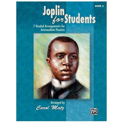 Alfred 00-35313 Joplin for Students- Book 3 - Music Book