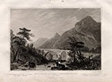 Antique Print-ST GOTTHARD-URI-SWITZERLAND-Winkles-1838