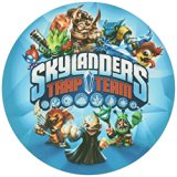 """Skylanders Trap Team Edible Icing Image Cake Decoration Topper (8"""" Round)"""