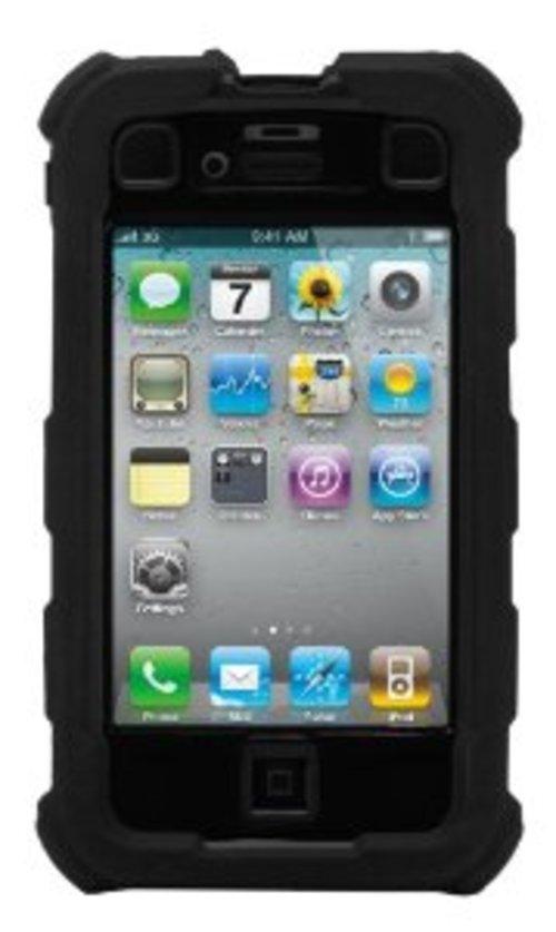 Ballistic Hard Core Series Ha0778-m005 Smartphone Case For Iphone 4 - Black