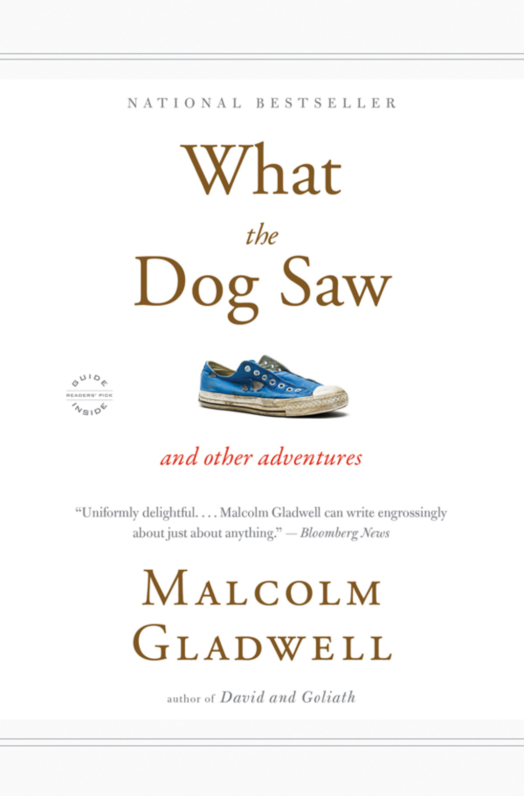 By Malcolm Gladwell PRINTISBN: 9780316086134 E-TEXT ISBN: 9780316086134 Edition: 0