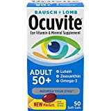 Bausch & Lomb Ocuvite Adult 50  Eye Vitamin & Mineral Softgels 50 ea (Pack May Vary)
