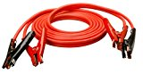 Coleman Cable 08666 16-Feet Heavy-Duty Truck and Auto Battery Booster Cables with Polar Glow Clamps, 4-Gauge