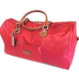 Travel bag 'Hexagona' red (50x28x24 cm (0.00''x11.02''x9.45'') ).