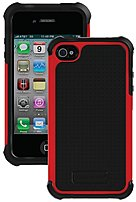 The Ballistic Shell Gel Series SA0582 M355 Advanced 3 Layer Protection Case for Apple iPhone 4,4S offers three layers of protection