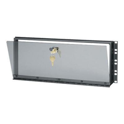 Black Box Rmt029 Plexiglas Security Cover - Rack Security Cover - 4u