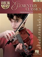 Elementary Classics: Violin Play-along Volume 26